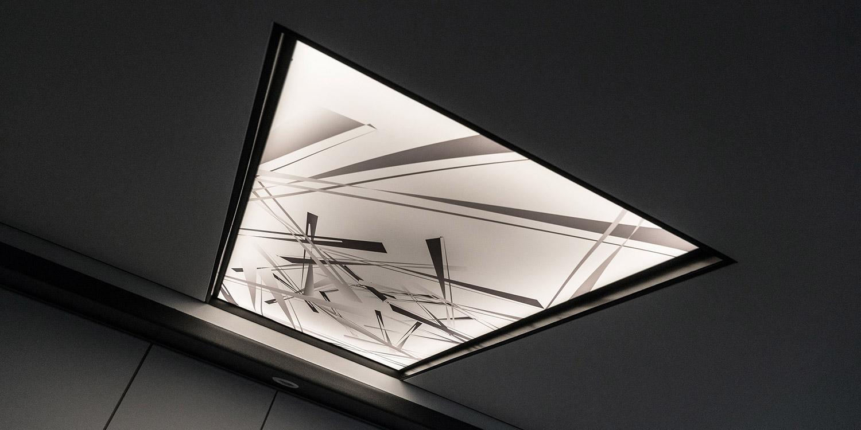 Mogelijkheden van een spanplafond