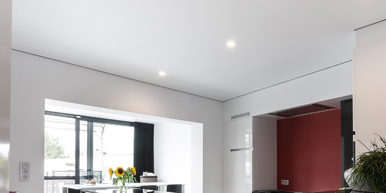 Verschil pvc en polyester spanplafonds