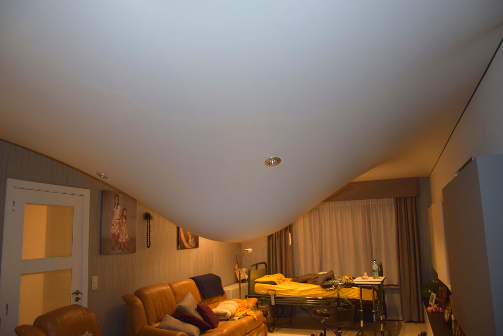 waterlek spanplafond